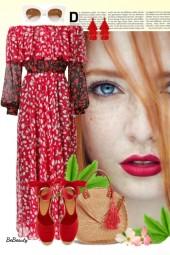 nr 3141  - Maxi dress