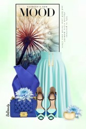 nr 3217 - Blue shades