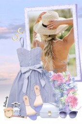 nr 3384 - Sweet summer dress