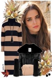 nr 3695 - Sweater dress