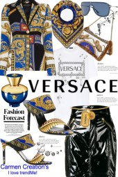 Journi's Versace Global Executive Work Outfit