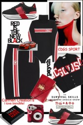 Journi's CDGS Sporty Outfit