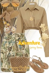 Journi's Spring Fave Adventure Outfit