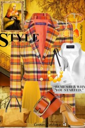 Journi's Executive Style Outfit