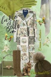 Journi's Decorative Winter Coat Outfit