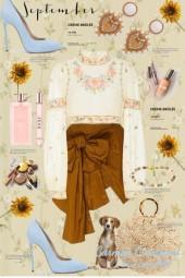 Journi's September Flower Power Outfit