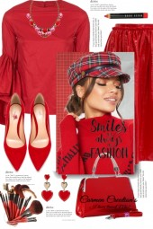 Journi's Strawberry Dinner Party Outfit