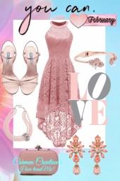 Journi's Valentine Dress Outfit
