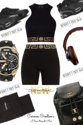 Journi's Versace Sports Outfit