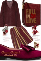 Journi's Fall In Love Shorts Outfit