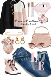 Journi's Love's Her Pastel Pink Outfit