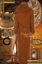 Journi's African Mahogany Outfit