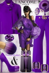 "Journi's Millennial Purple Outfit 3 ""For Contest"""
