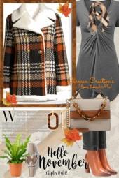 Journi's Hello November Outfit