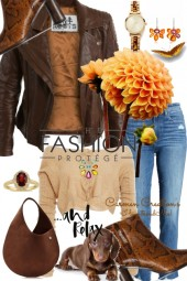 Journi's European Travel Casual Outfit