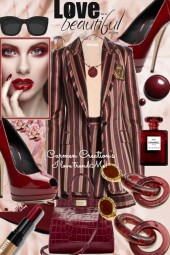 Journis Love Beautiful Shorts Pant Suit Outfit