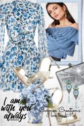 Journi's Flower Print Dress Outfit