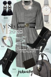 Journi's January My Style 2020 Outfit