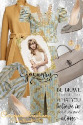 Journi's January Be Brave New Year Outfit