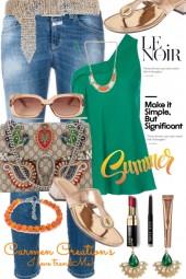 Journi's Summer Le Noir Outfit