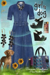 Journi's Girl And Dog Story Outfit