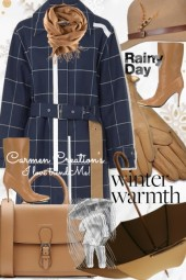 Journi's Winter Warmth Rainy Day Outfit