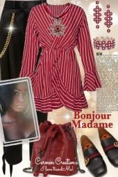 Journi's Bonjour Madame Paris City Outfit