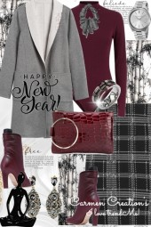 Journi's Winter Happy New Year Outfit