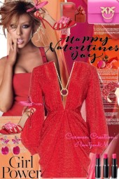 Journi Girl Power Happy Valentine Day Outfit