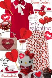 Journi Be My Valentine Party Outfit