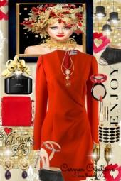 Journi Enjoy Valentine's Day Outfit