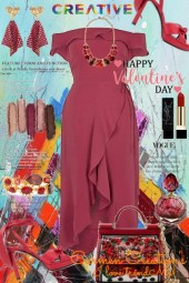 Journi Creative Happy Valentine's Day Outfit