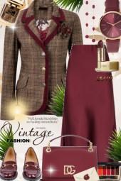 Journi Vintage Fashion Outfit