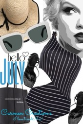 Journi Hello July Outfit