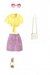желт фиолет чистый