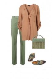 зеленая пудра