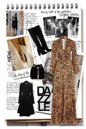 How to wear leopard dress