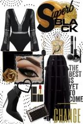 Superb black