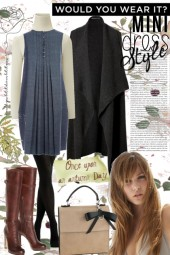 Mini dress style