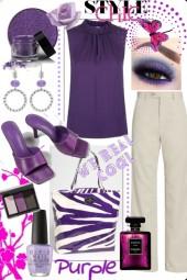 Style chic purple
