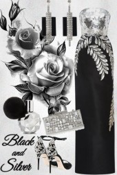 Black and silver night