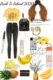Back To School 2020/Yellow aesthetic