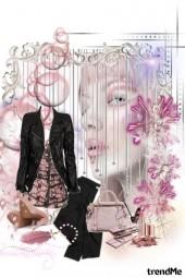 roze crno