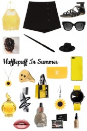 Hufflepuff In Summer