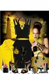 žuto - crna fantazija