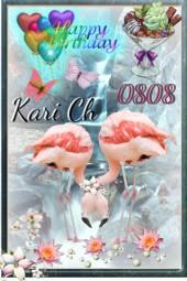 Gratulere med dagen,Kari