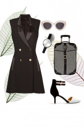 The Classic Office Outift for a Pear Shape