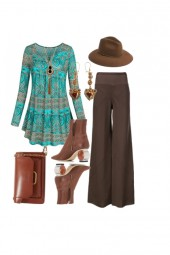 The Bohemian Weekend apple outfit