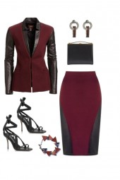 The Glamourous Office Look for a Triangle