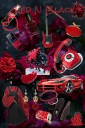 Royal Red and Brutal Black